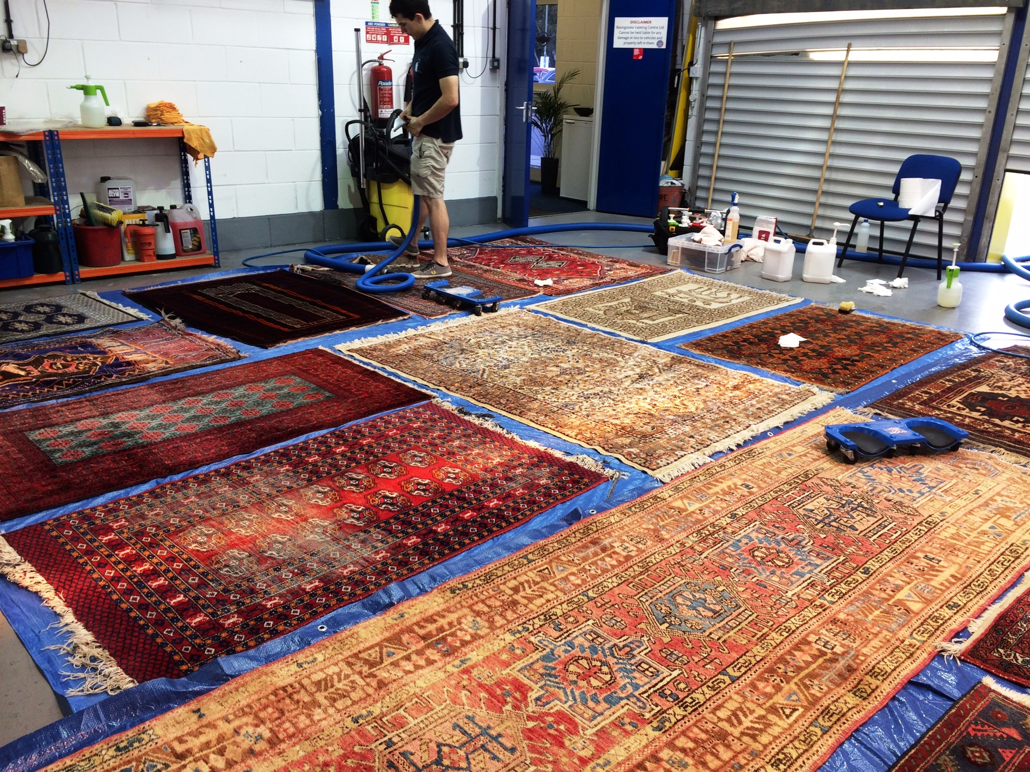 Domestic Rug Cleaning