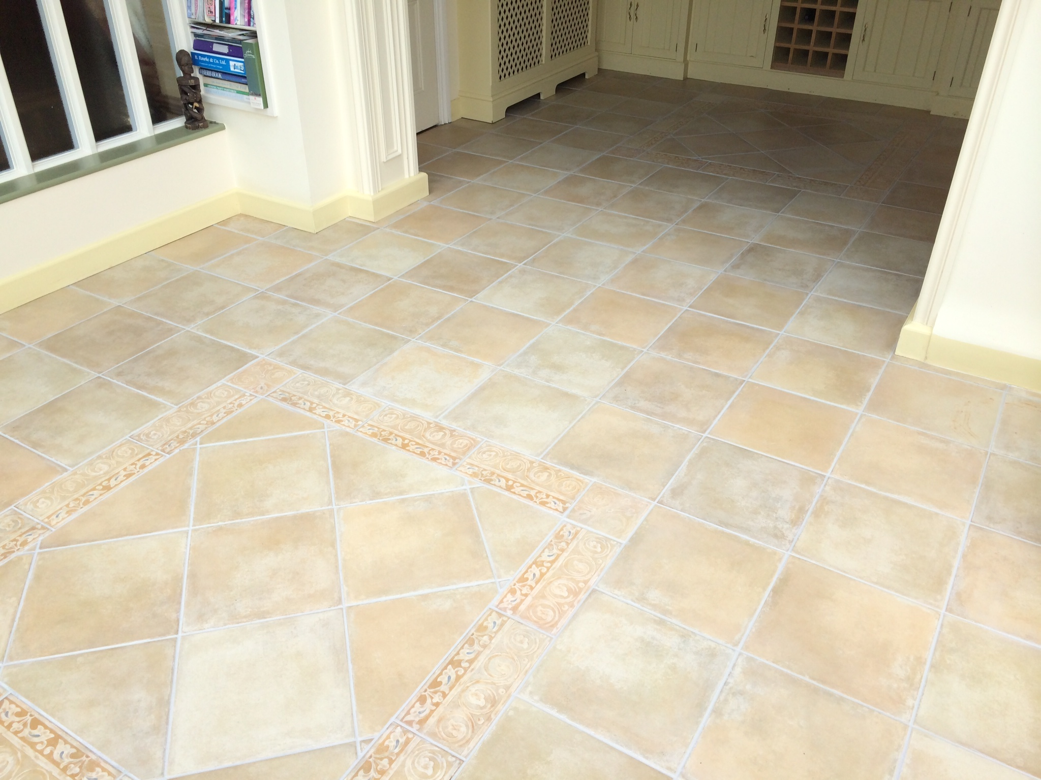 how to clean tile grout uk