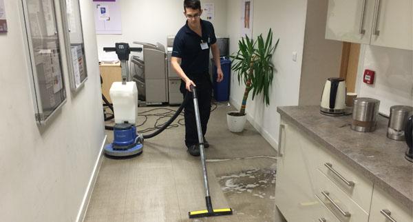 Cleaning Amtico flooring